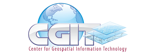 Center for Geospatial Information Technology Logo